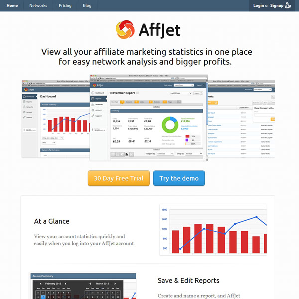 AffJet Homepage