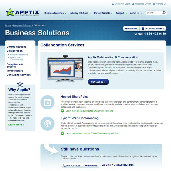 Apptix Collaboration Services