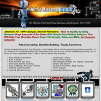 Article Marketing Robot screenshot