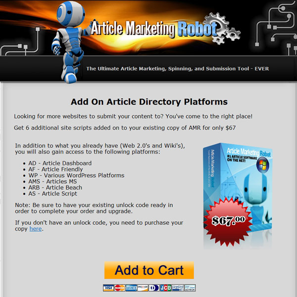 Article Marketing Robot Article