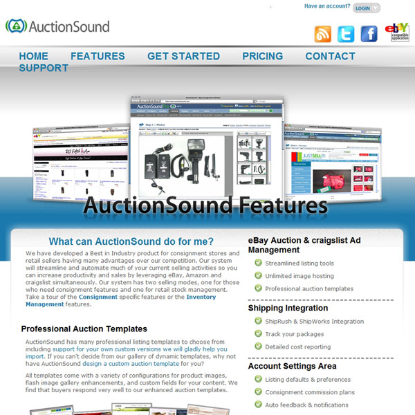 AuctionSound Features