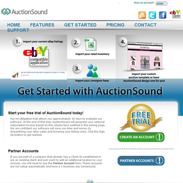 AuctionSound Started
