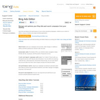 Bing Ads Editor screenshot