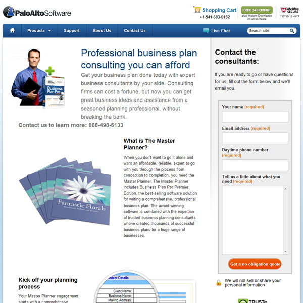 Business Plan Pro Consulting