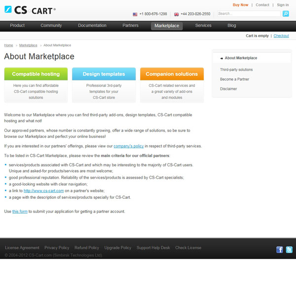 CS-Cart Marketplace