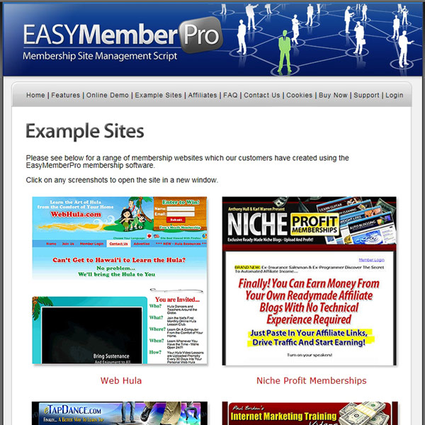 EasyMemberPro Cases