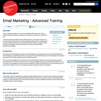 Email Marketing Advanced Training  screenshot