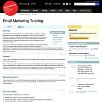 Email Marketing Training  screenshot
