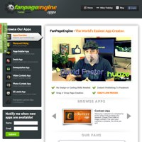FanPageEngine screenshot