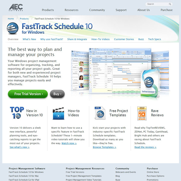 FastTrack Schedule Homepage