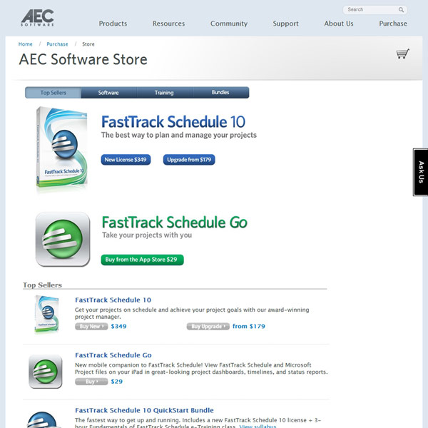 FastTrack Schedule Pricing
