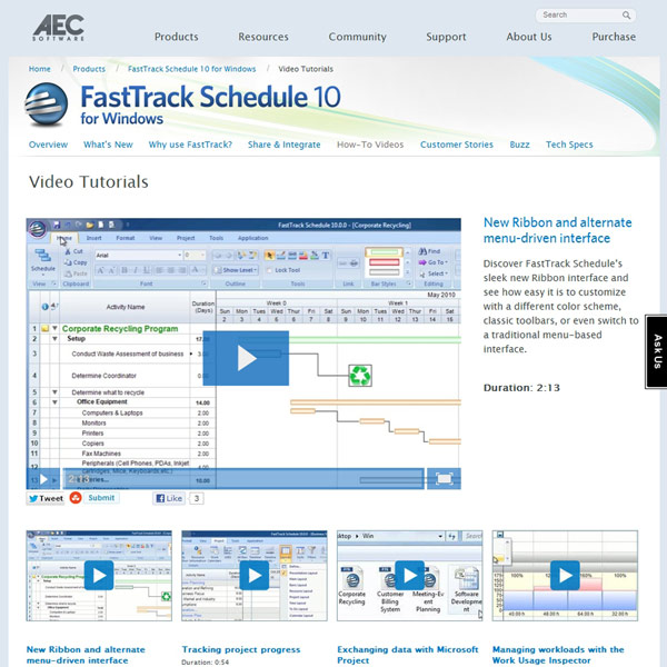 FastTrack Schedule Video
