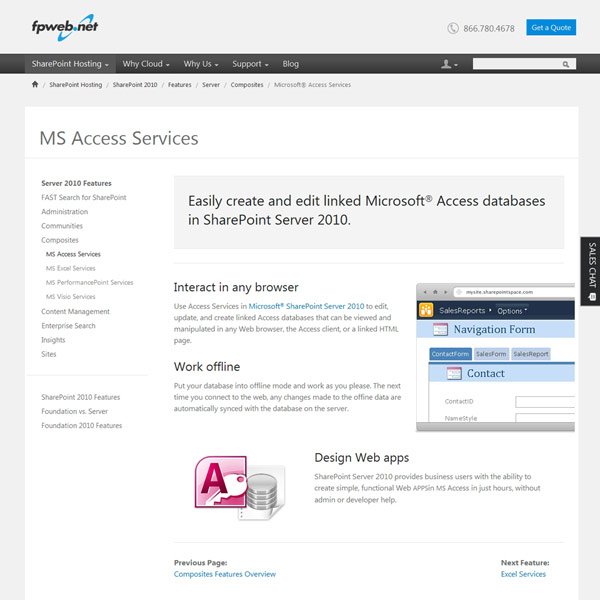Fpweb.net MS Access Services