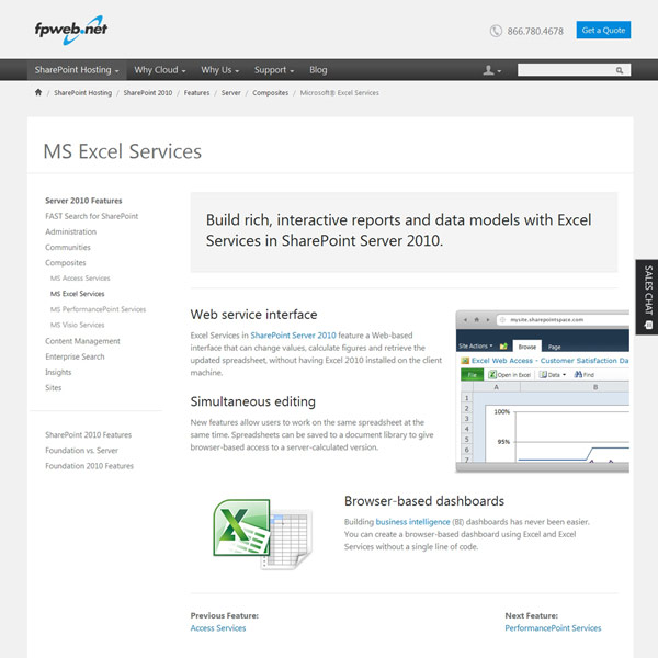 Fpweb.net MS Excel Services