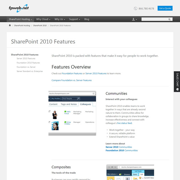 Fpweb.net SharePoint 2010 Features