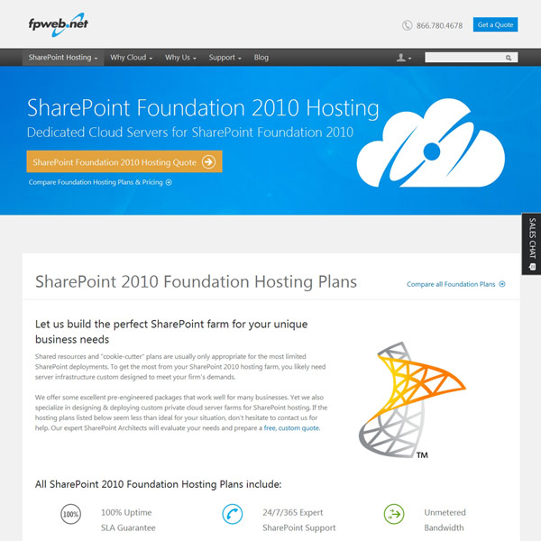 Fpweb.net SharePoint Foundation 2010 Hosting