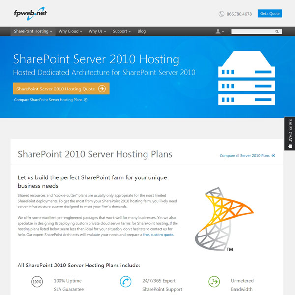 Fpweb.net SharePoint Server 2010 Hosting