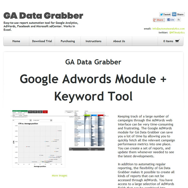 GA Data Grabber AdWords