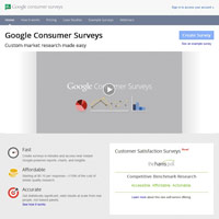 Google Consumer Surveys screenshot