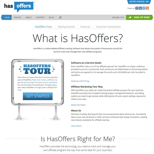 HasOffers Tour
