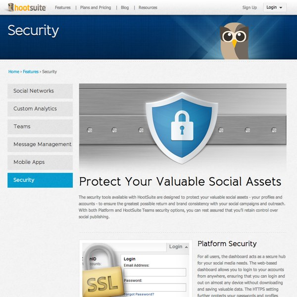 HootSuite Security