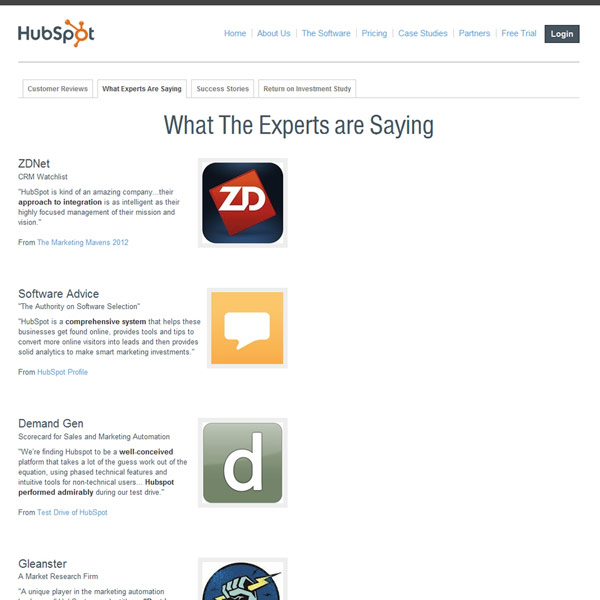 HubSpot Reviews