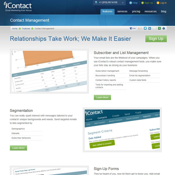 iContact Contact Management