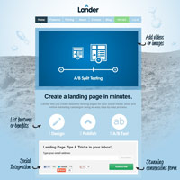 Lander screenshot