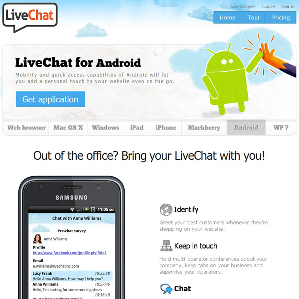 LiveChat Android