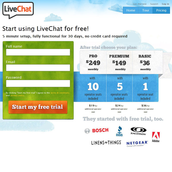 LiveChat Pricing