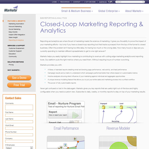 Marketo Analytics