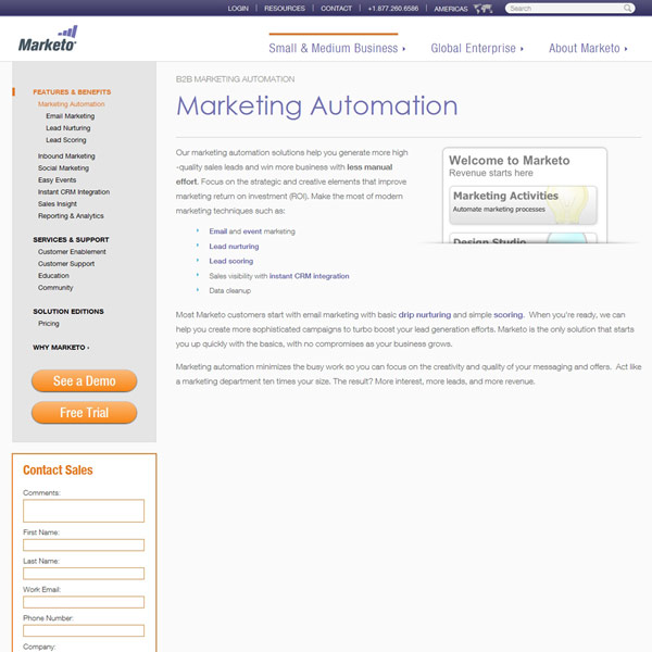 Marketo Automation