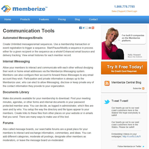 Memberize Communications