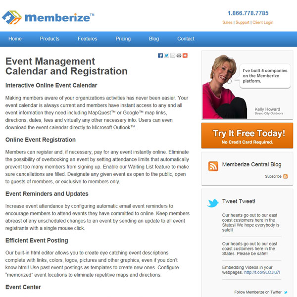 Memberize Events