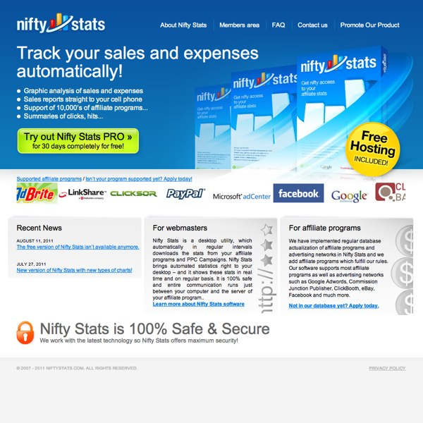 Nifty Stats Homepage