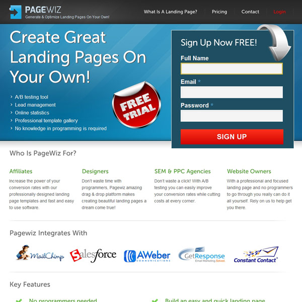 PageWiz Homepage