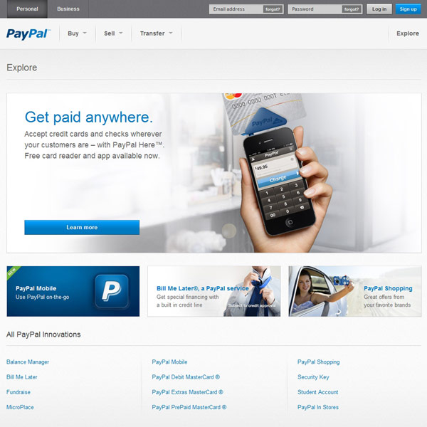 PayPal Products