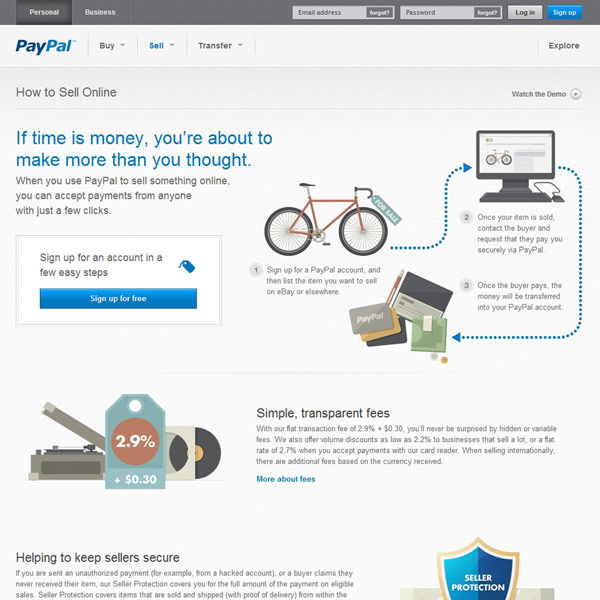 PayPal How to Sell Online