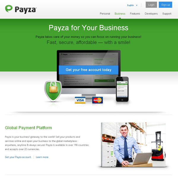 Payza Payza for Your Business