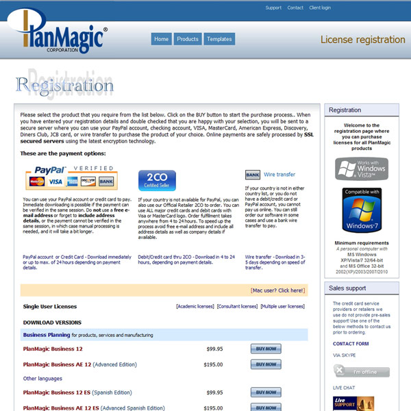 PlanMagic Business Pricing