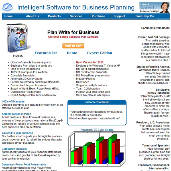 Plan Write for Business