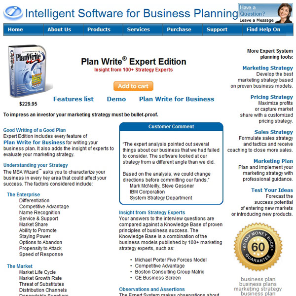 Plan Write Expert Edition