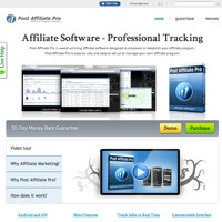 Post Affiliate Pro screenshot