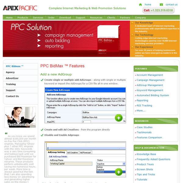 PPC BidMax ad groups Management