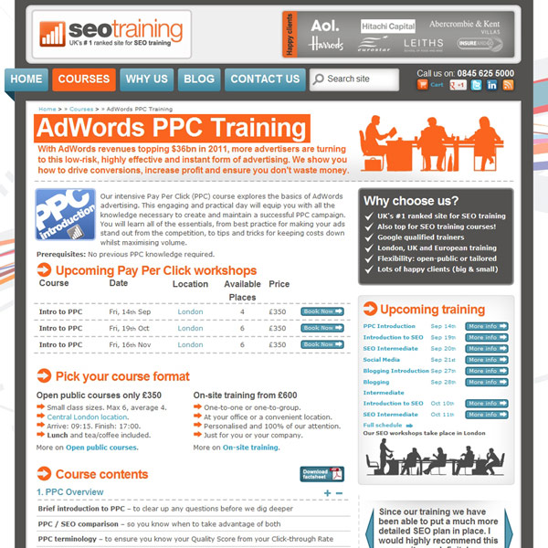PPC Introduction Homepage
