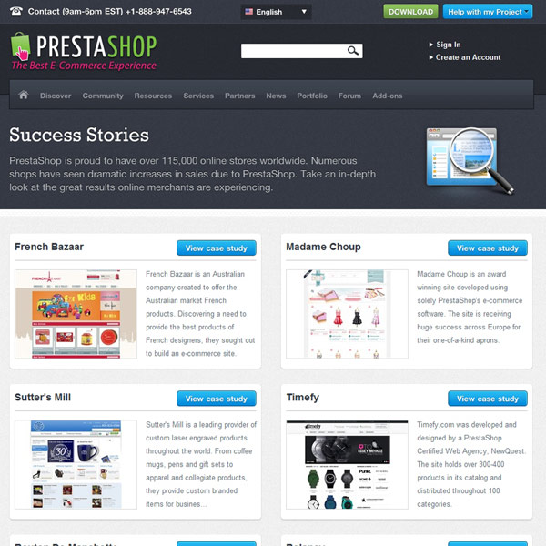 PrestaShop Success Stories