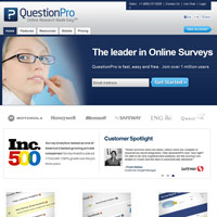 QuestionPro screenshot