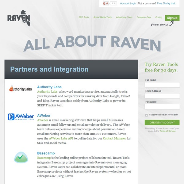 Raven Tools Partners