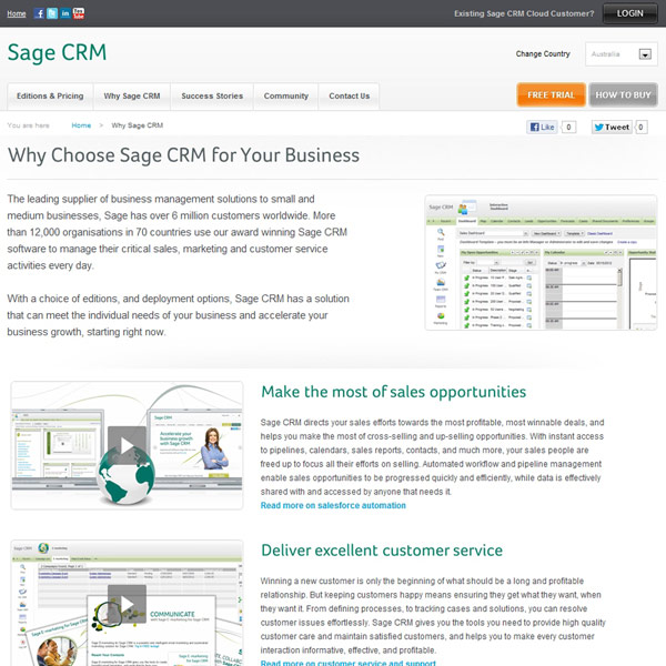 Sage CRM Why