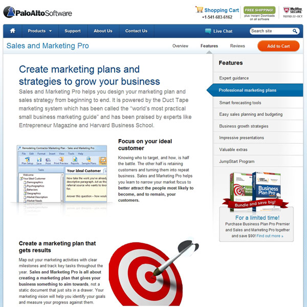 Sales and Marketing Pro Marketing Plans